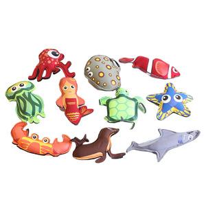 바다동물인형